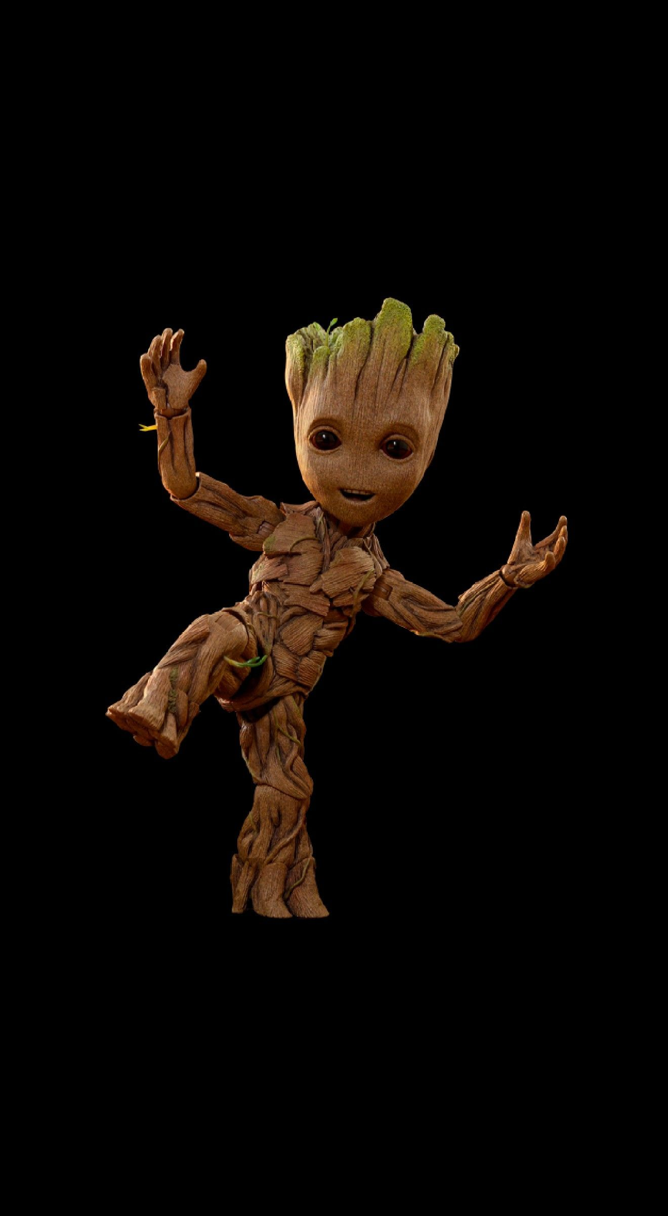 Wallpaper Amoled Iphone Groot Groot Marvel Superhero Wallpaper Marvel Wallpaper