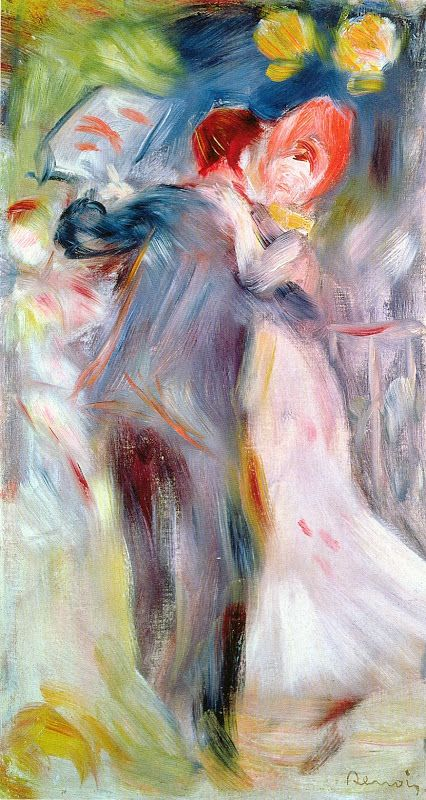 Sketch By Renoir For His Painting Dance In The Country C 1882 Renoir Paintings Renoir Art Pierre Auguste Renoir