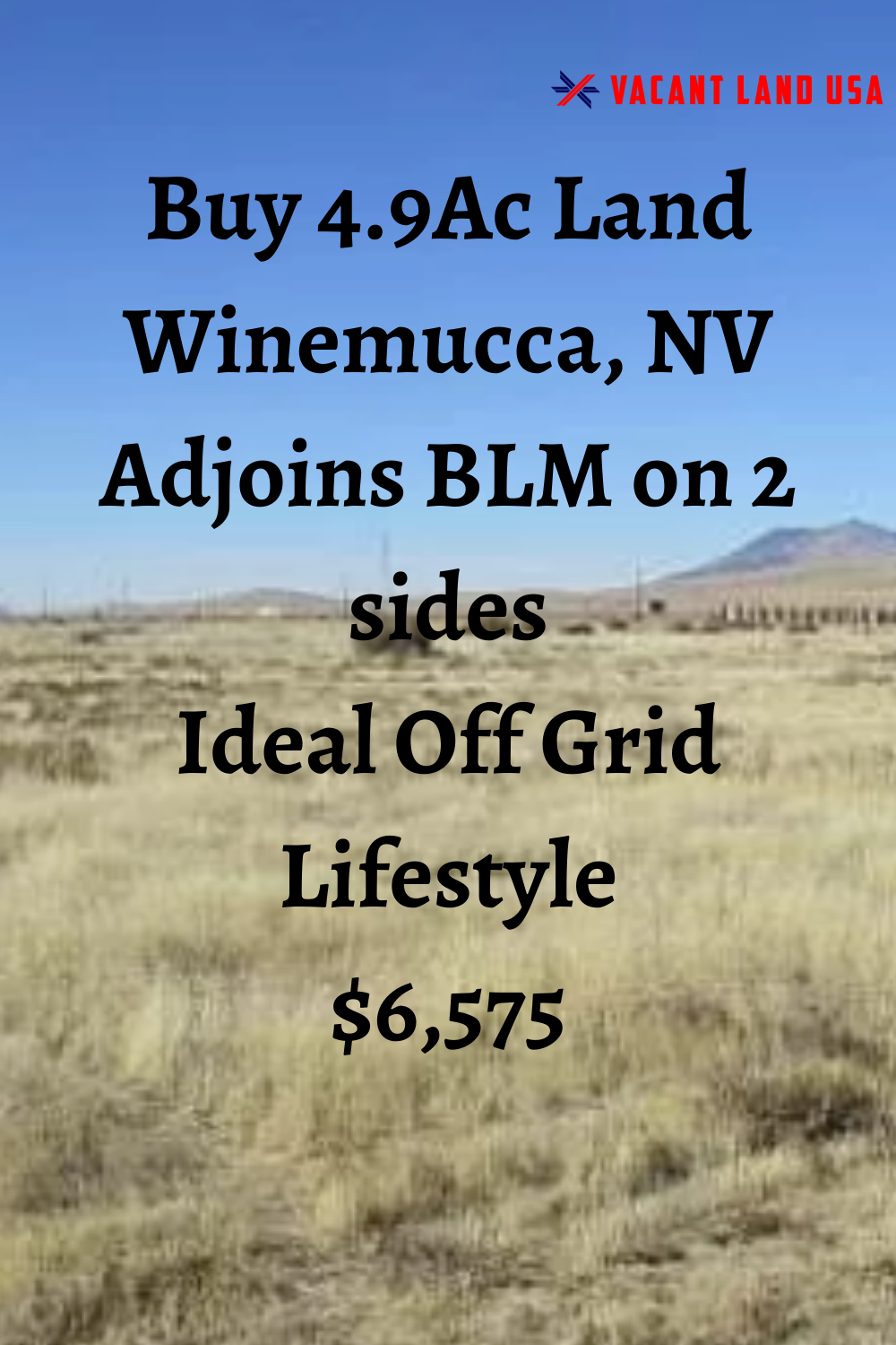 4 9 Acres Winnemucca Land For Sale Nevada In 2020 With Images