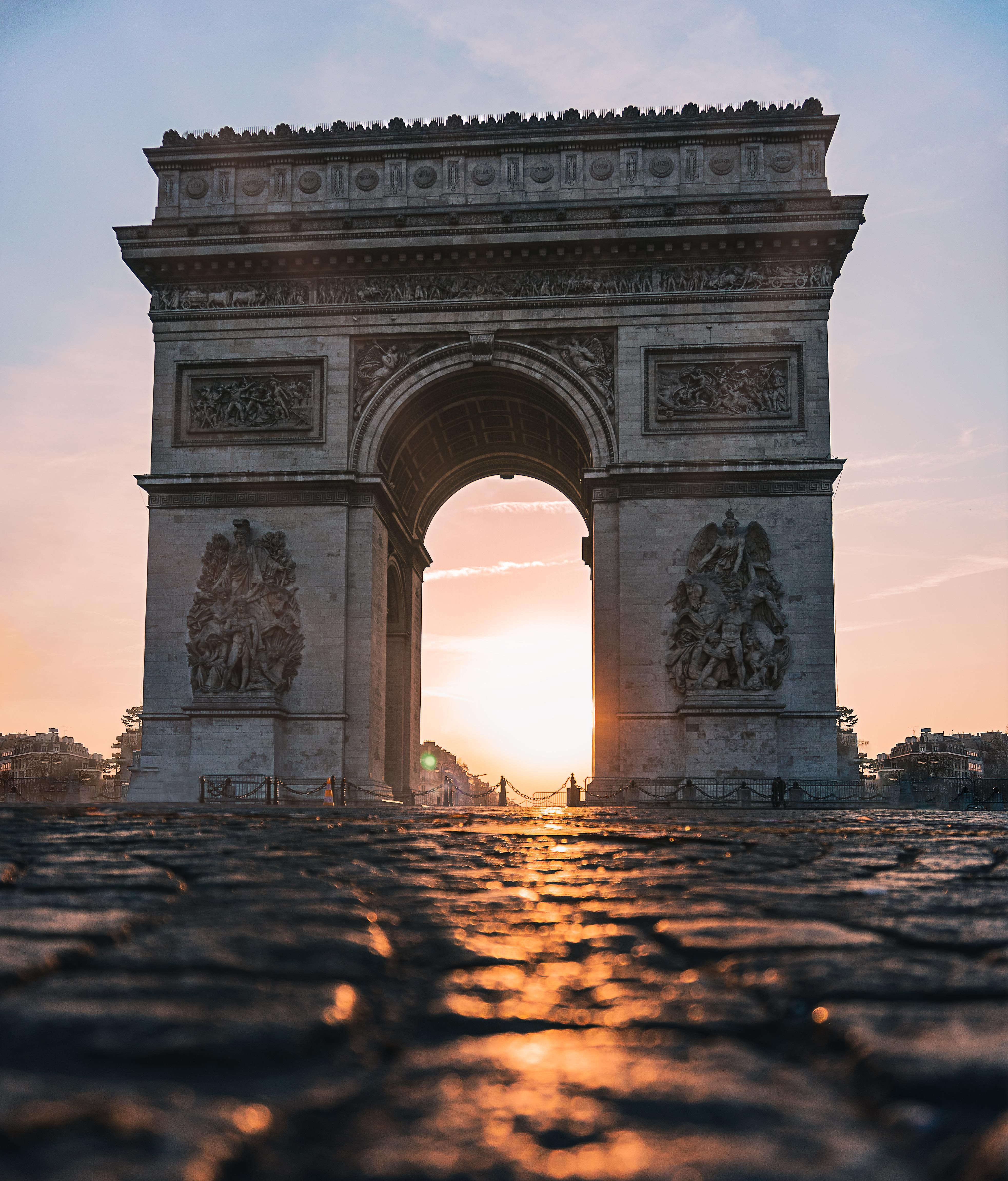 ITAP of the Arc de Triomphe#PHOTO #CAPTURE #NATURE #INCREDIBLE