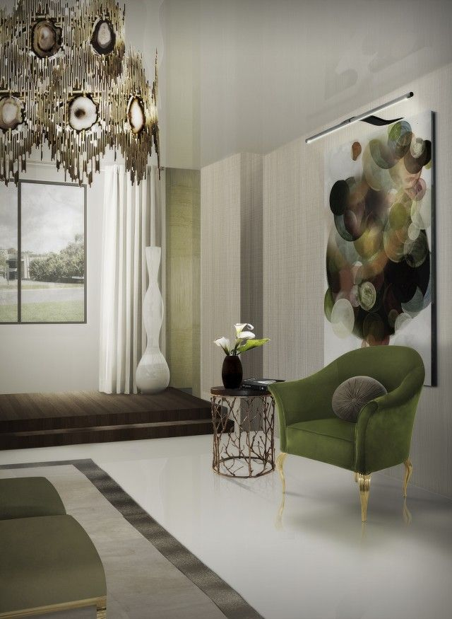 How to Give a Pop of Color to your Living Room Design   Pantone ...