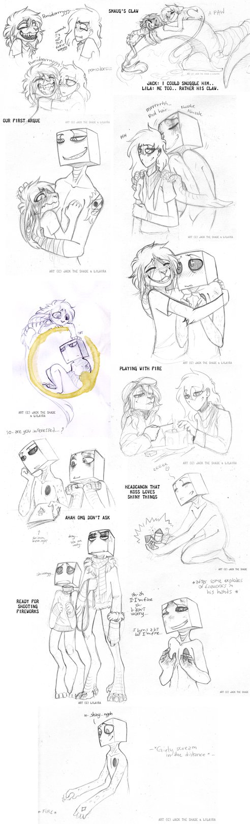 3rd Meeting Collabs U V U Silly Thingz More Drawings From