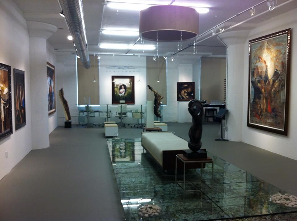 Gerald griffin gallery chicago griffin fine art - Commercial interior design chicago ...
