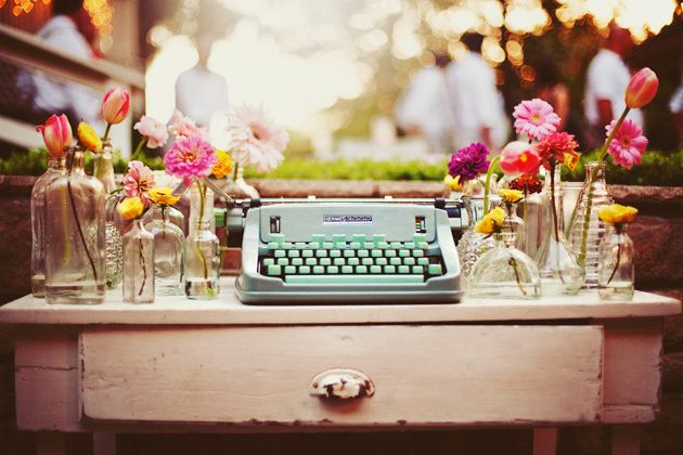 Typewriter published in 101Woonideeën, april 2012. Photographers: Chad en Tressie Zellner