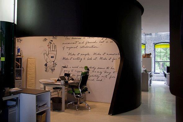 leo burnett office moscow. have you ever seen an office like this before leo burnett corner moscow k