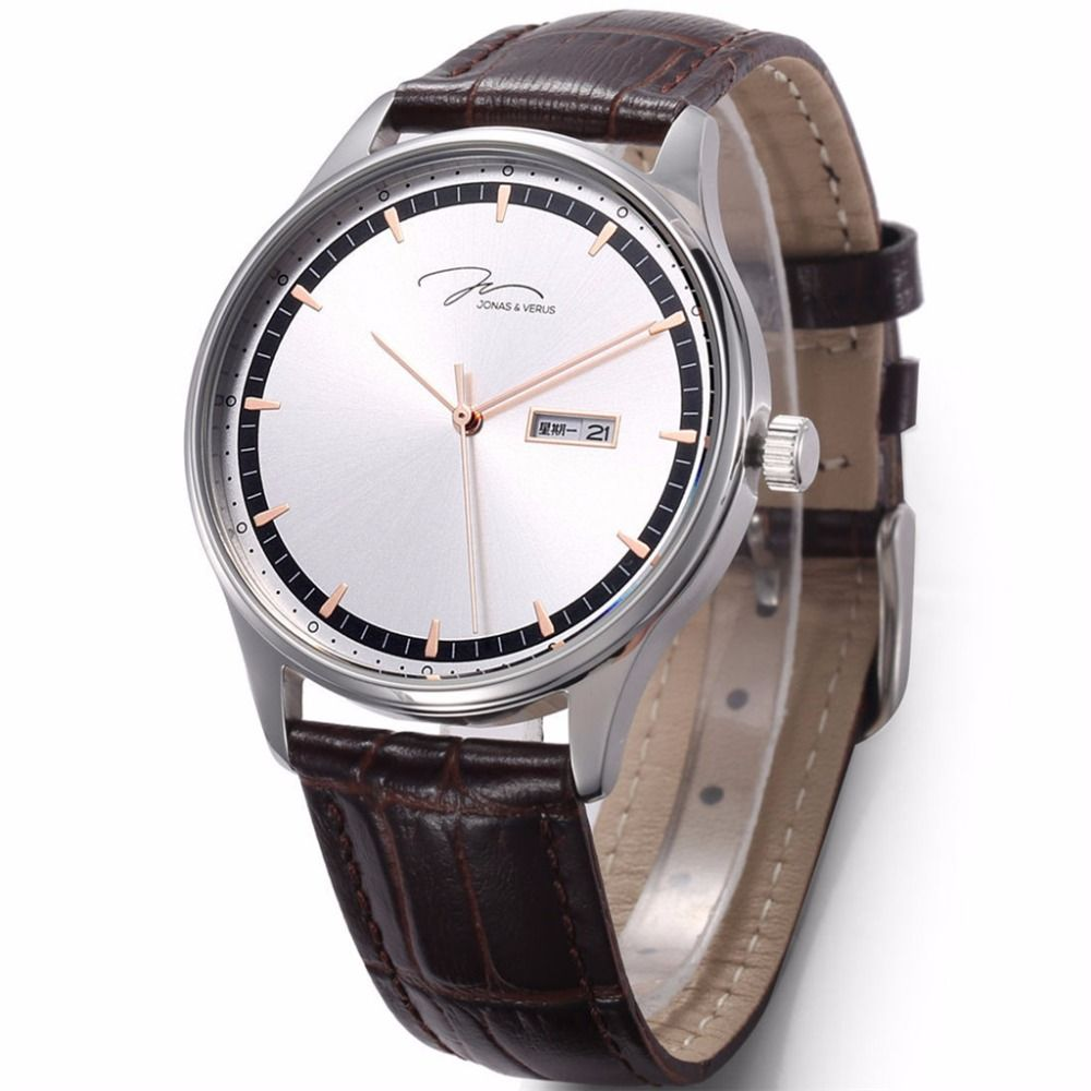 VERUS Fashion Watch Men Quartz watch with Classical Style and Leather strap watch 30m Waterproof  Business Wristwatch  http://ali.pub/iwakp