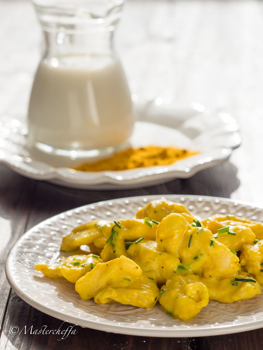 Photo of Chicken milk and turmeric morsels
