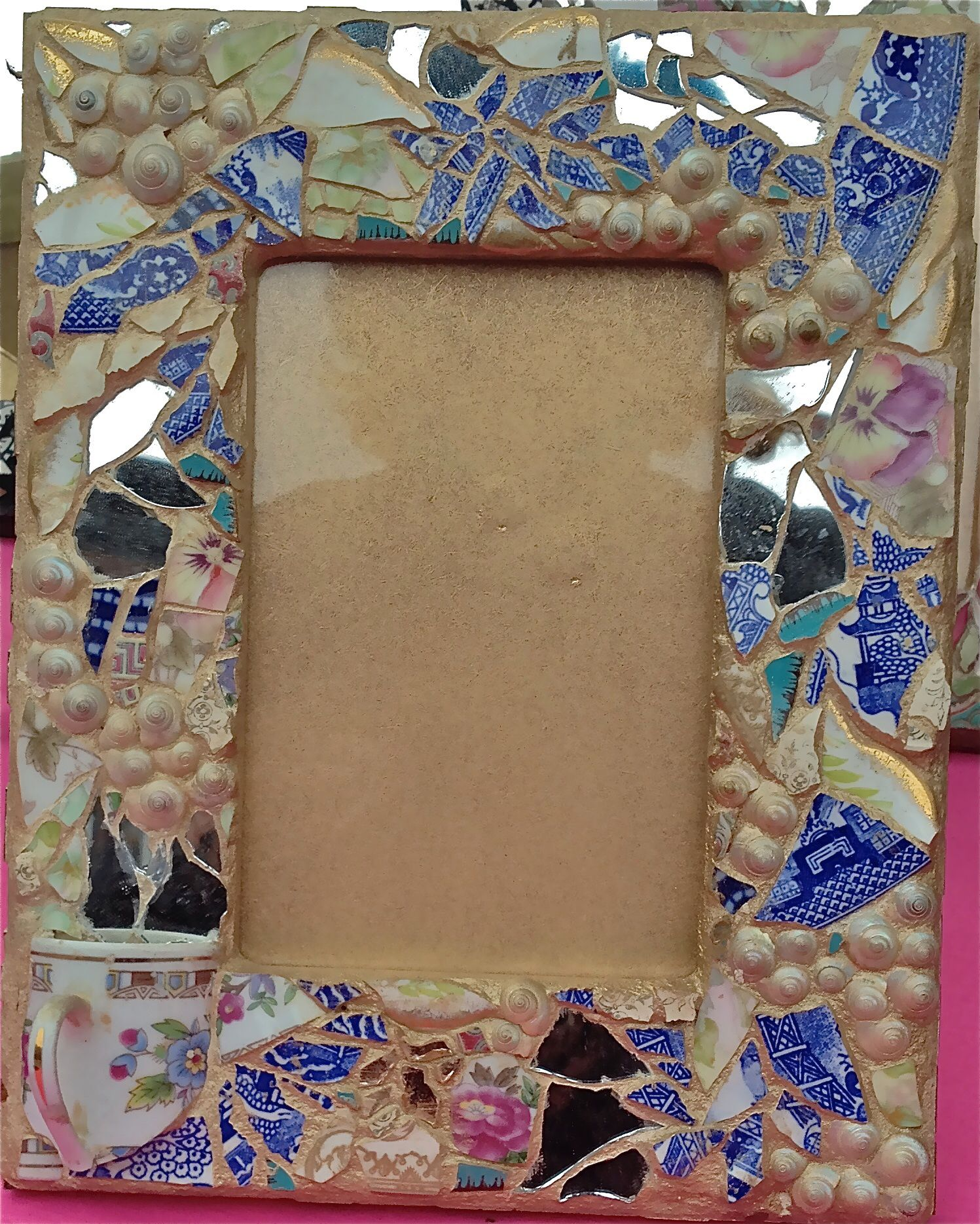 Mosaic Picture Frames available @ Claudiagill.com   Mosaics I love ...