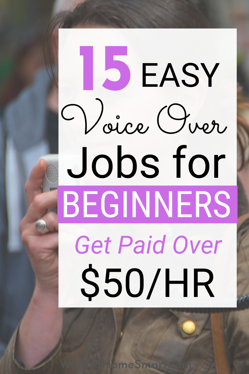 15 Voice Over Jobs From Home