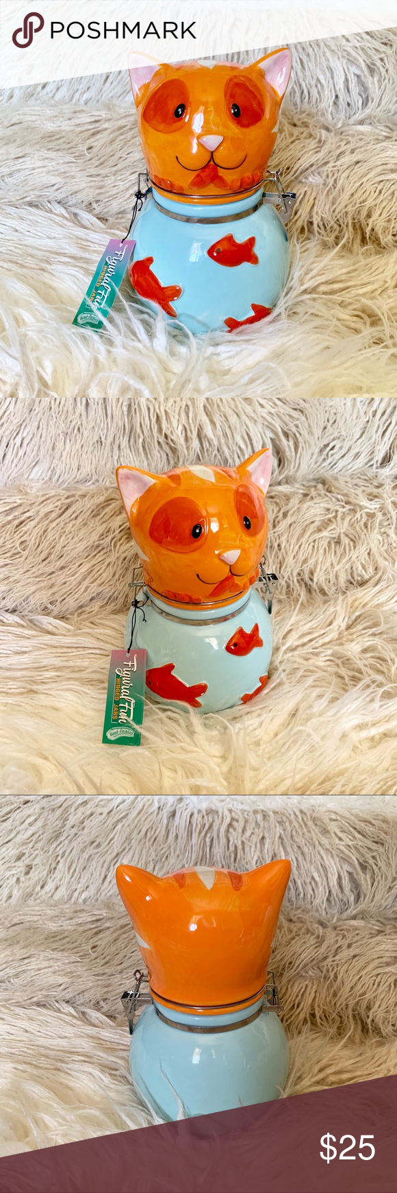 Cat Fish Bowl Hinged Jar Cat Fish Bowl Decorative it