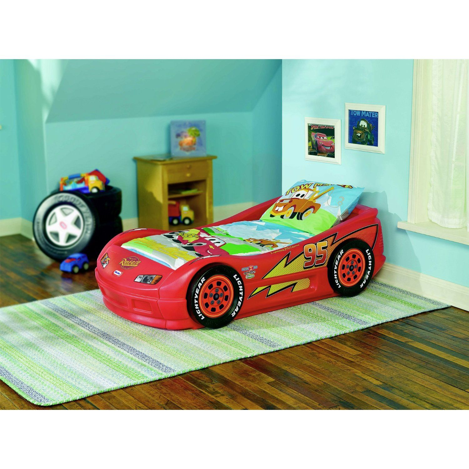 Toddler bed? Lightning mcqueen toddler bed, Kids bedroom