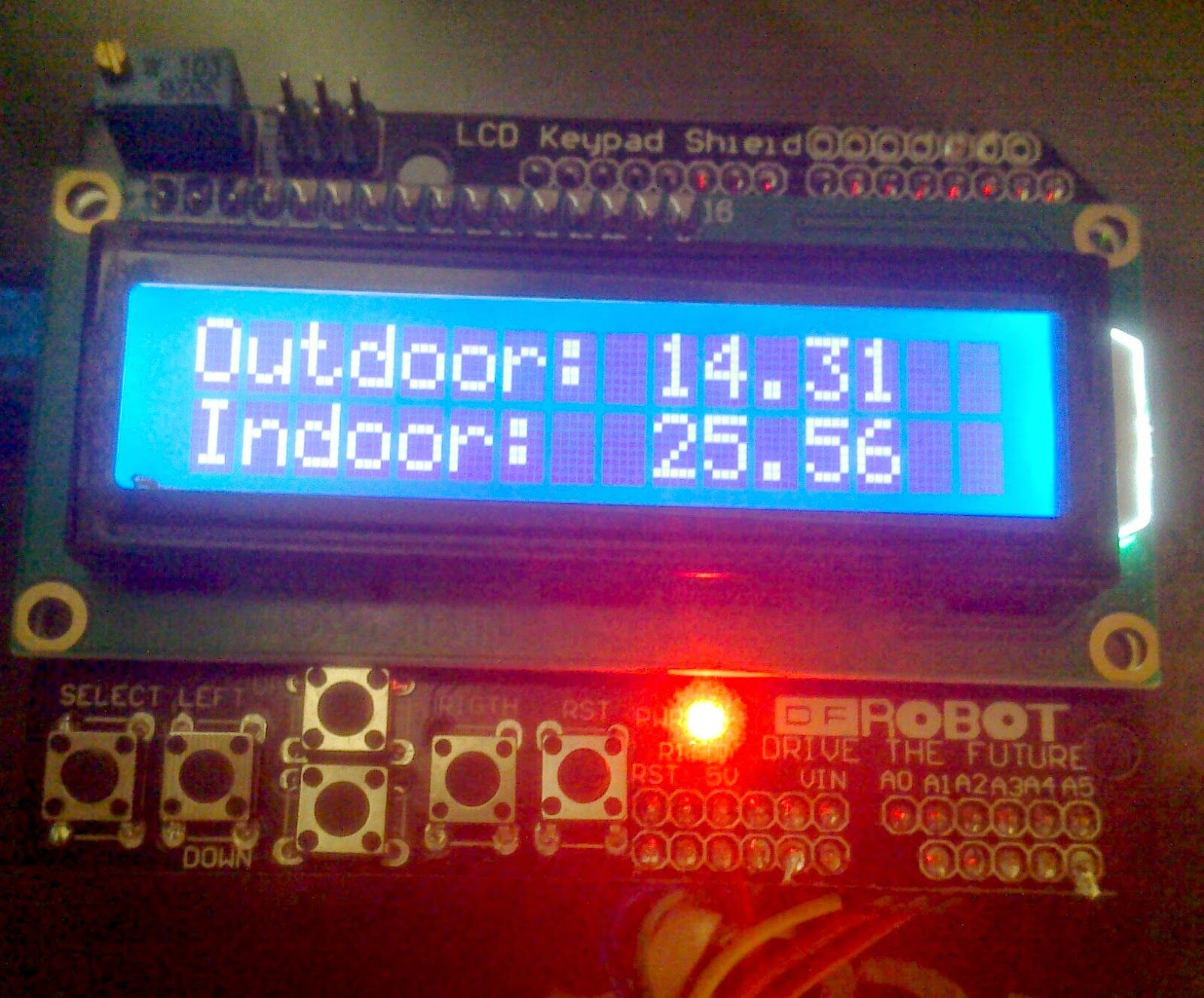 Cheap remote wireless temperature sensor with arduino and