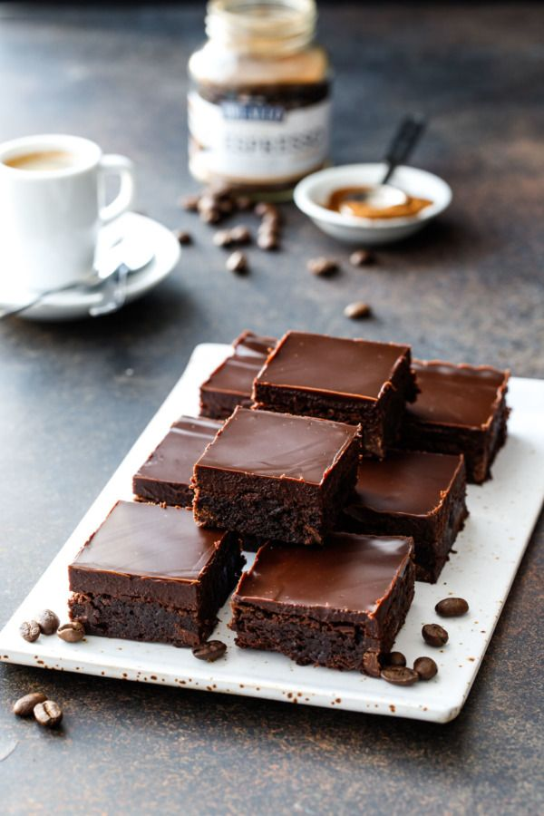Triple Chocolate Espresso Brownies | Recipe | Chocolate ...