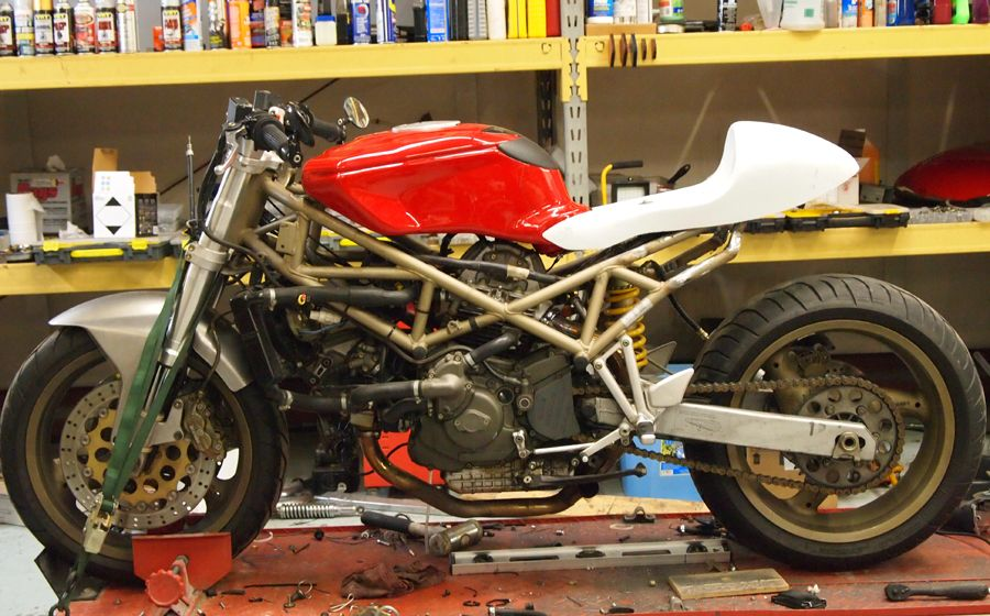 St2 Cafe Fighter Build Ducati Ms The Ultimate Forum