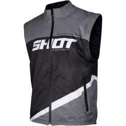 Photo of Shot Bodywarmer Lite Motocross Weste Schwarz Grau M Shot