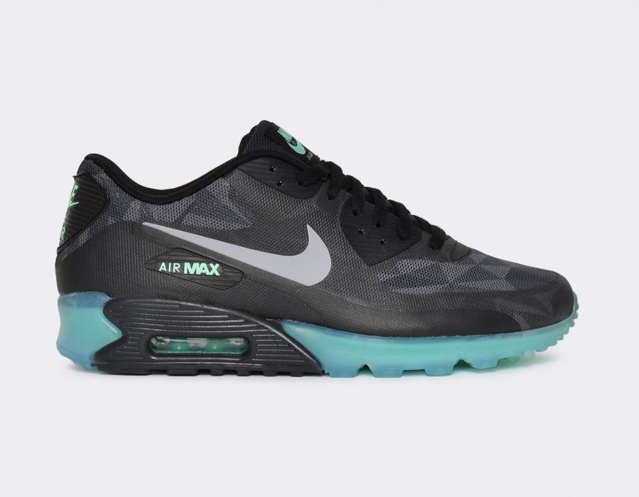 Nike Air Max 90 Qs Ice Edition Black Sneakers Chaussures Nike Nike Sneakers