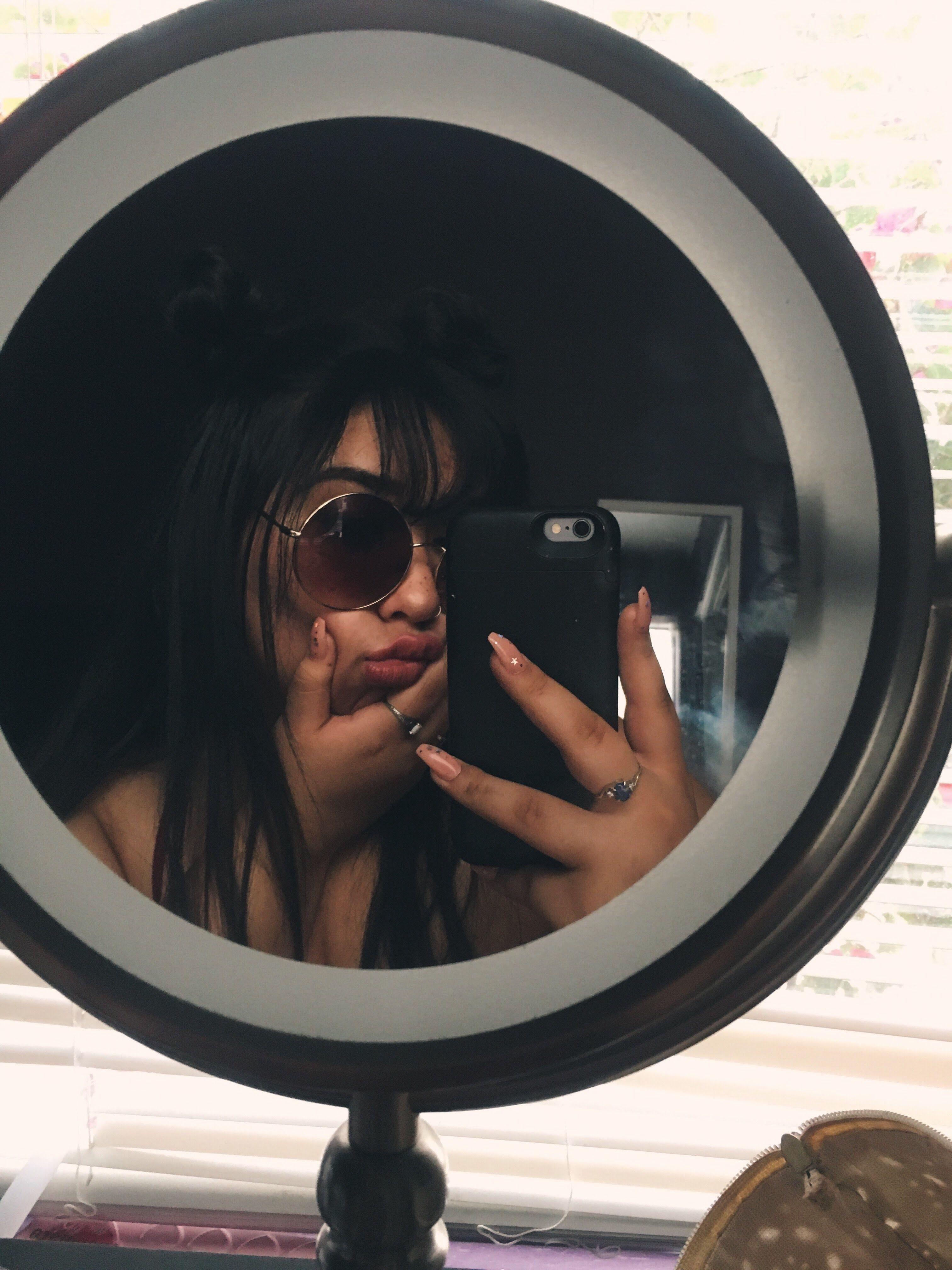 как сделать фото через зеркало антирадиационная ретро