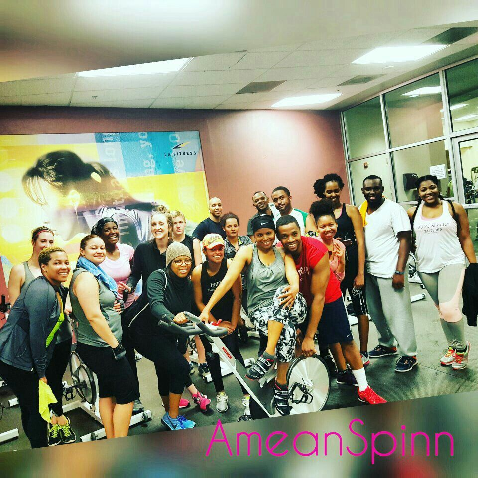 La fitness cycling event la fitness indoor cycling