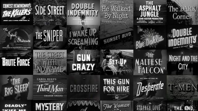 The Origins of Film Noir - Jump into the world of Film Noir and look at how evolving technology and economic factors gave birth to a genre that still deeply influences the way filmmakers work today.