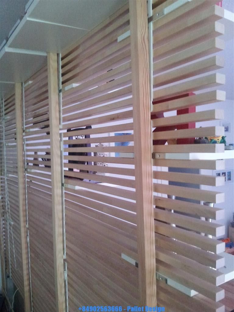 Wooden pallet dividers pallet ideas pinterest wooden pallets