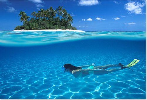 Malediven wunderschöne Natur genießen Insel