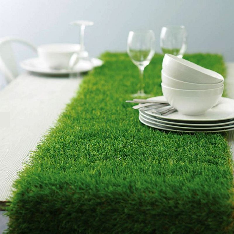 12x108 Artificial Grass Table Runner Artificial Grass Grass Alice In Wonderland Tea Party