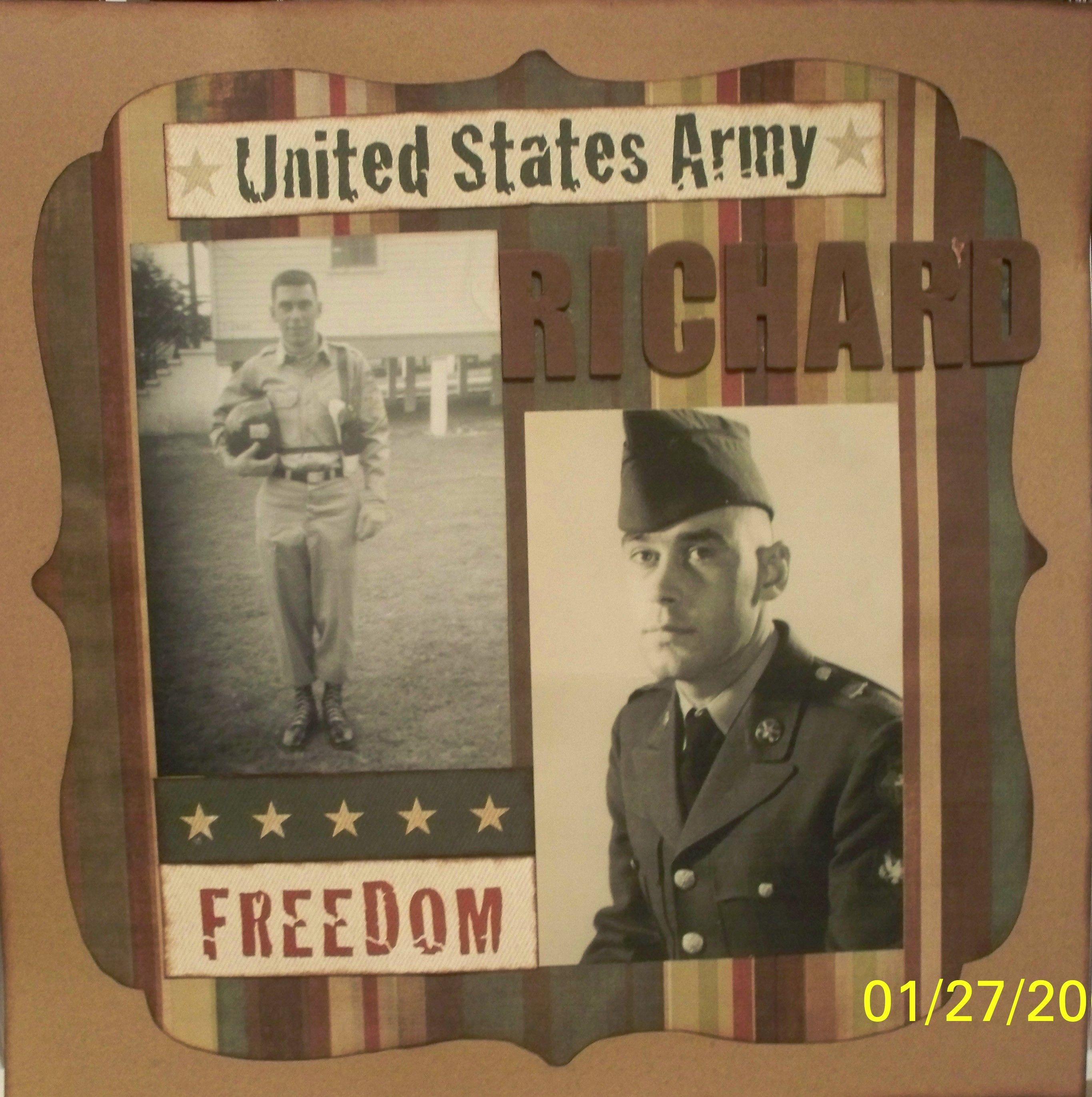 Scrapbook ideas military - Scrapbook Com Wendy Schultz Via Bettyann Kaiser Onto