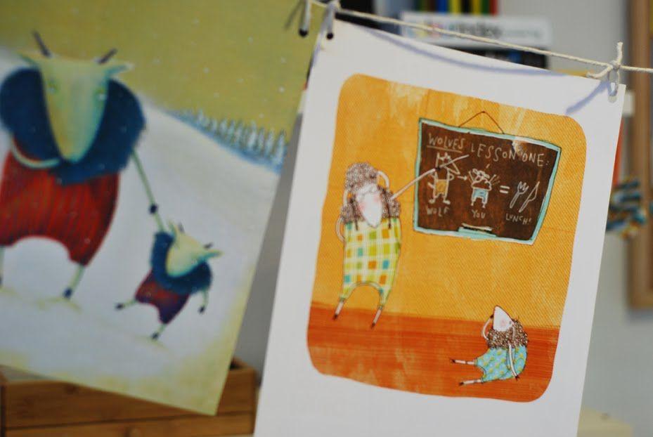 Illustrations from Catalina Echeverri, a children's book illustrator {blog.}