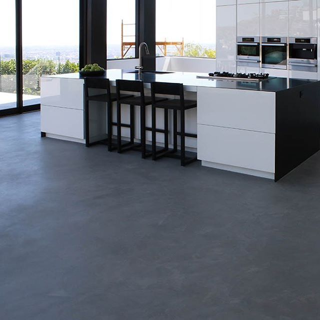 Contemporary design meaning less is more. Modern kitchen coupled ...