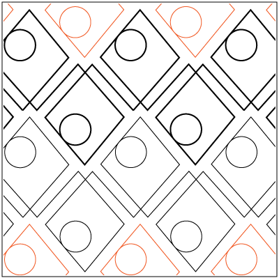 Dominos© 2015 Patricia E. Ritter | Quilting | Pinterest | Quiltmuster