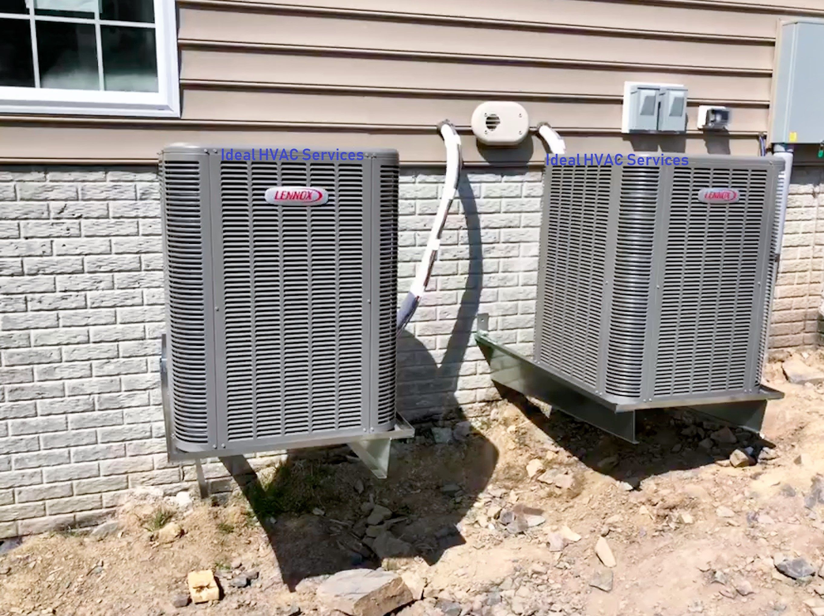Ideal Hvac Services Lennox Heat Pumps On Brackets New