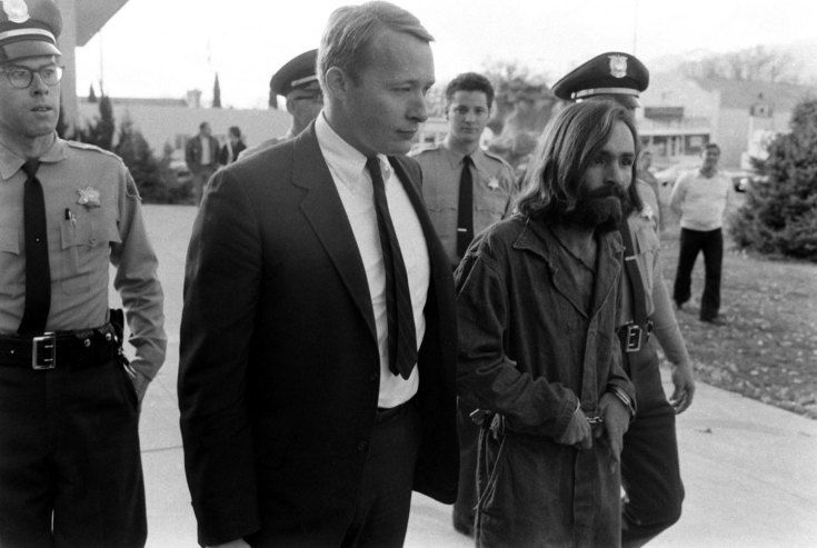 <strong>Not published in LIFE.</strong> Charles Manson in custody, 1969.
