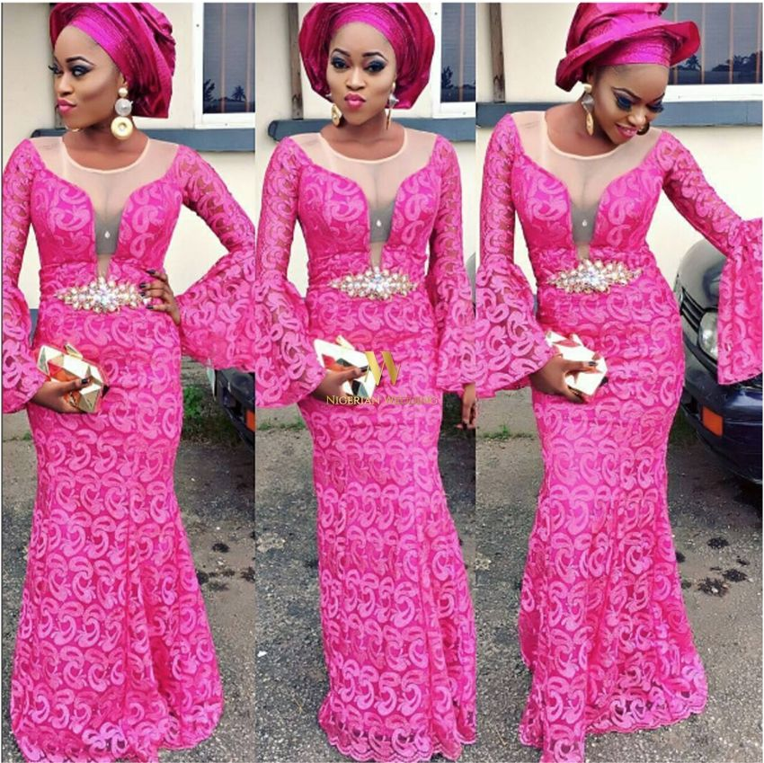 Presents 8 HOTTEST & Most UNIQUE Monotone Aso-Ebi Colour Ideas For ...