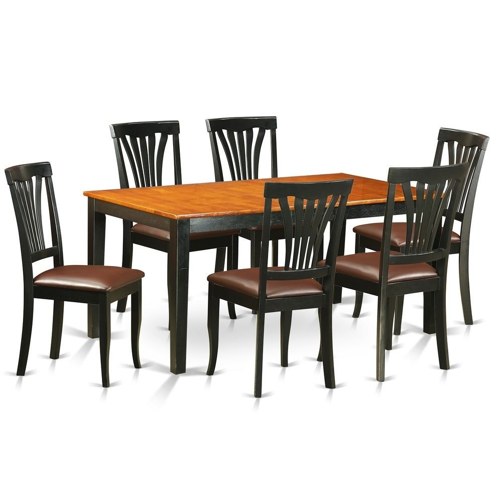 40+ Dining table and 6 leather chairs Best Seller