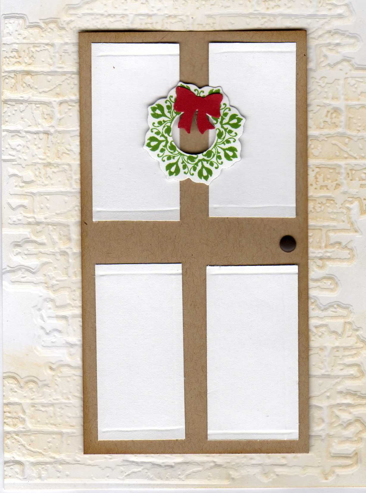 Daydream Medallion Wreath On Faux Door By Cindy Mccool Medallions Windows And Doors
