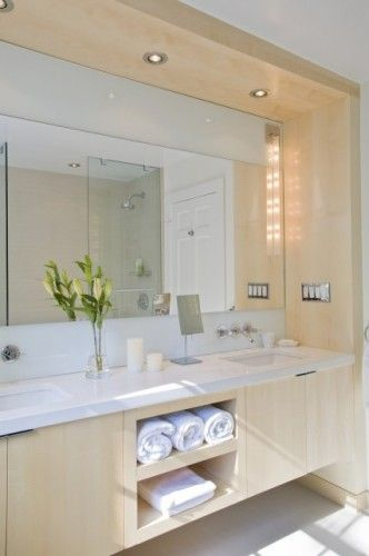 los angeles 3b568 2cfbd Cpndo vanity idea, soffit lighting,modern bathroom by FORMA ...