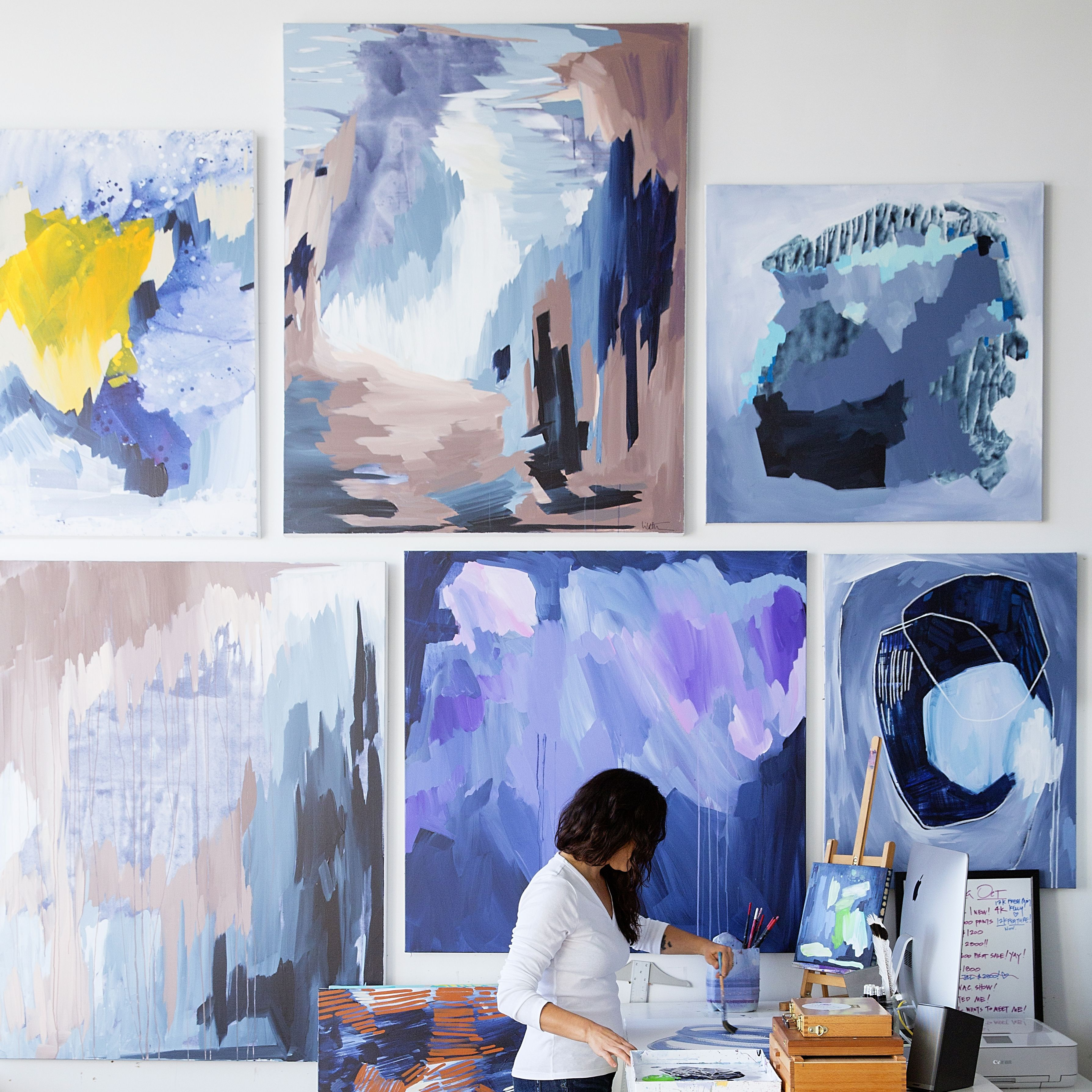 6Artists Who Paint With Everything but Their Hands, soPollock Wasn't That Crazy After All 6Artists Who Paint With Everything but Their Hands, soPollock Wasn't That Crazy After All new pictures
