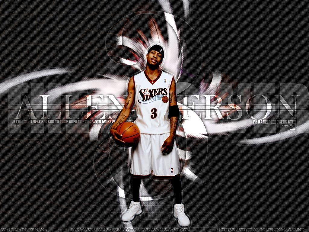Allen Iverson Wallpaper Allen Iverson Allen Iverson Wallpapers Allen Iverson Nba Basketball Art
