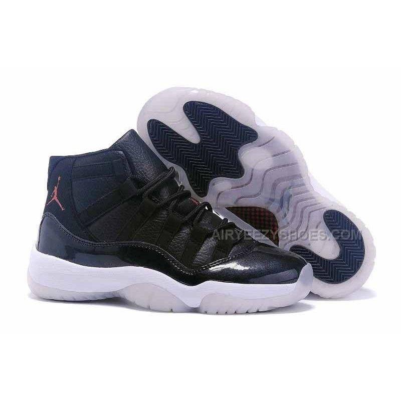 "56873c99ce9 2015 Air Jordan 11 GS ""72-10″ Black-White Gym Red For Sale"