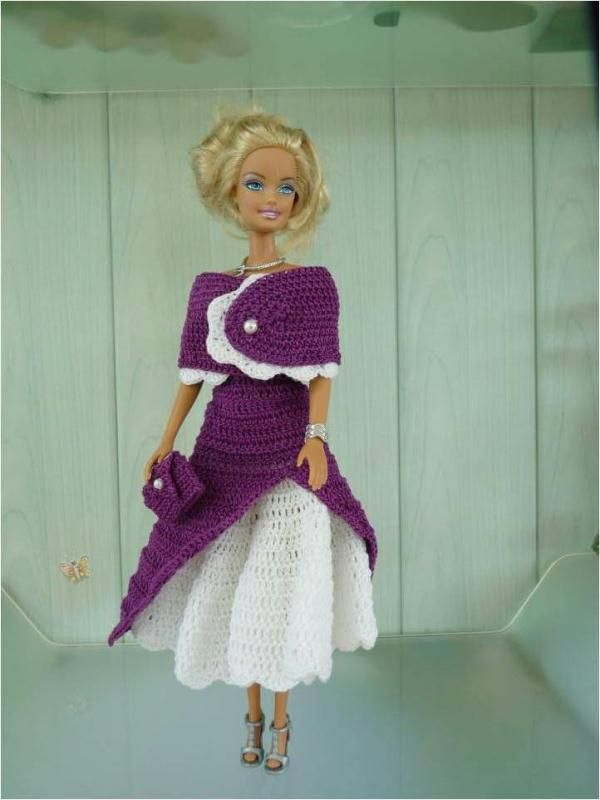 barbie crochet - Bing Afbeeldingen   barbi 2   Pinterest   Ropa para ...