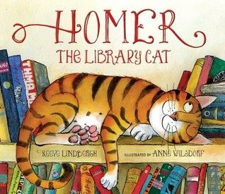 """children's book, """"homer, the library cat"""", written by reeve ..."""