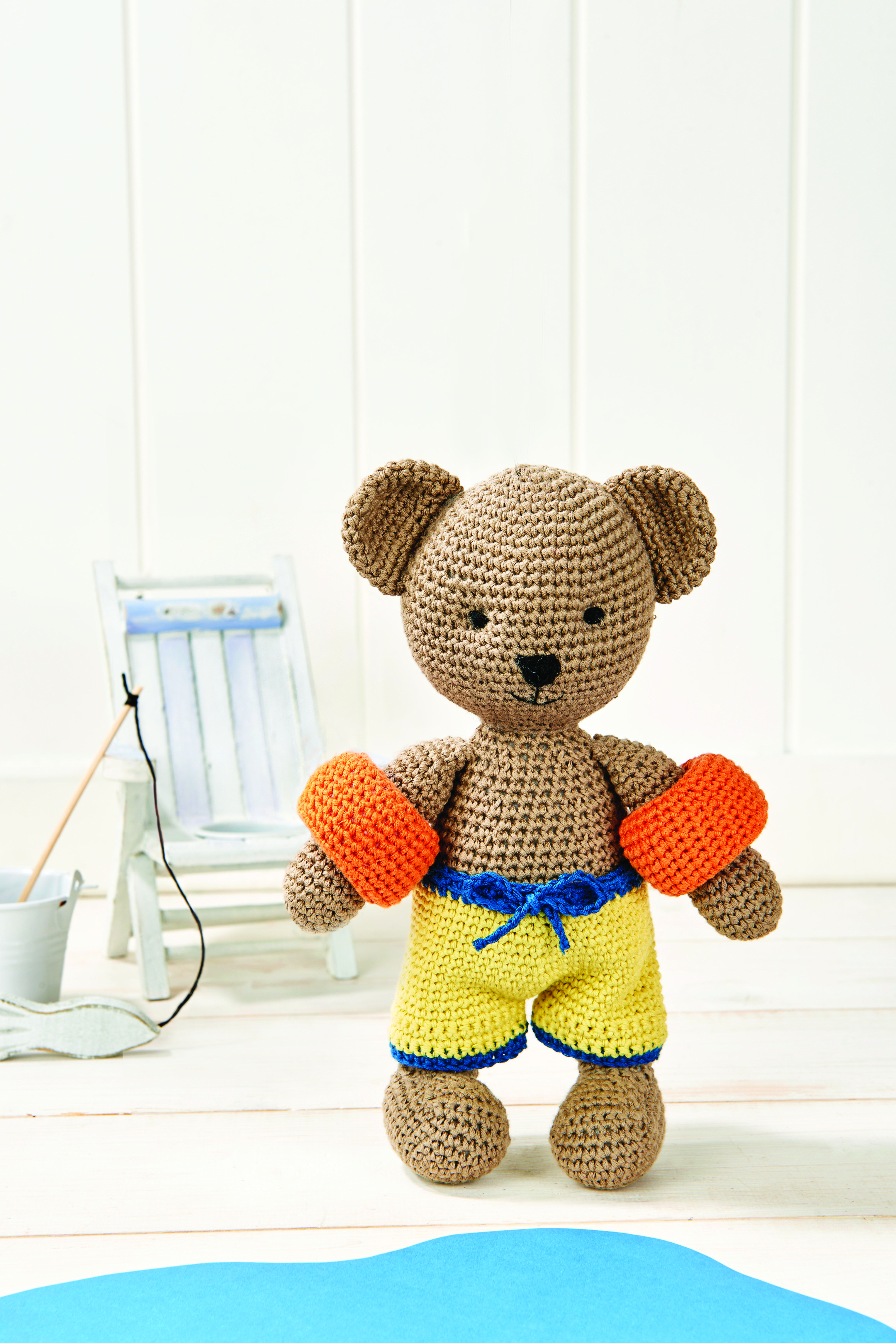 Oliver The Bear. Get your fix of adorable amigurumi with this little ...