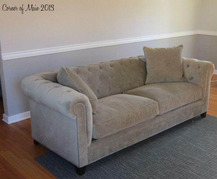 Astounding Martha Stewart Saybridge Sofa Living Room Update Sofa Customarchery Wood Chair Design Ideas Customarcherynet