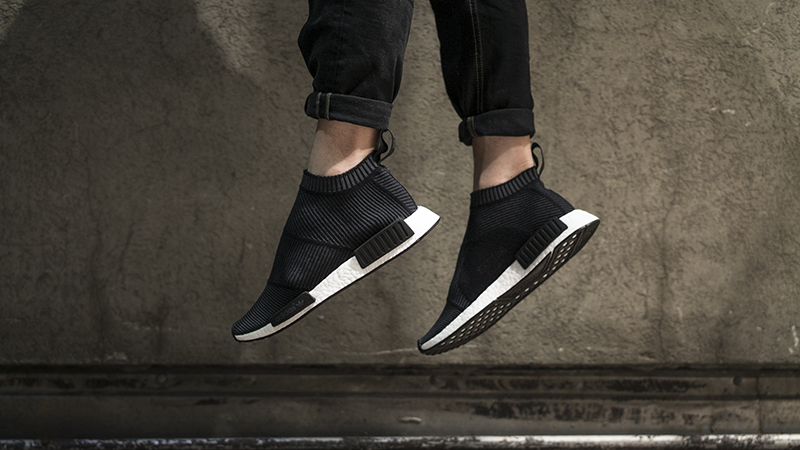 ef417e716e5fc adidas NMD CS1 Winter Wool Primeknit Black 05