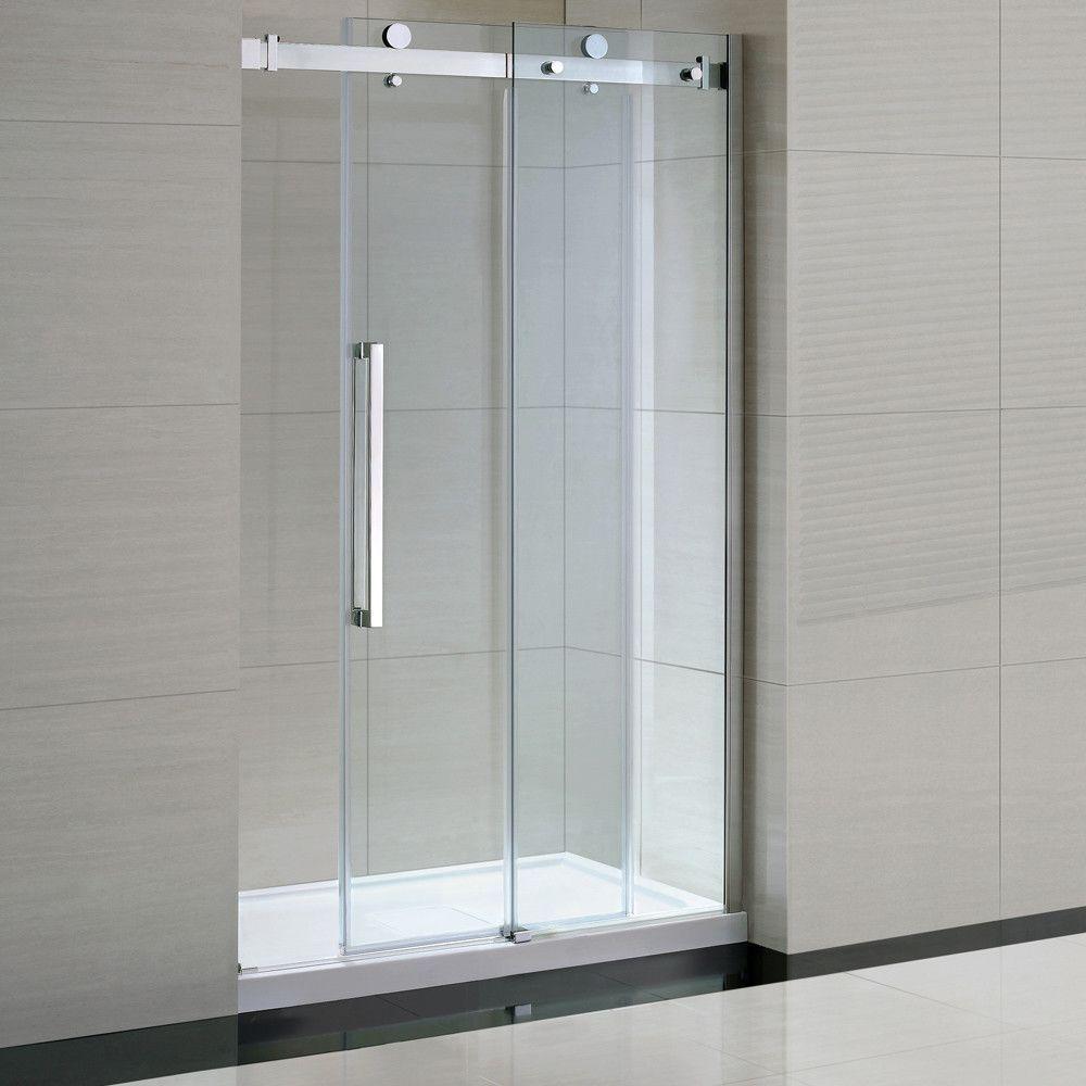Sierra 82 X 96 X 32 Glass Panel Door Shower Doors Frameless Sliding Shower Doors Shower Stall