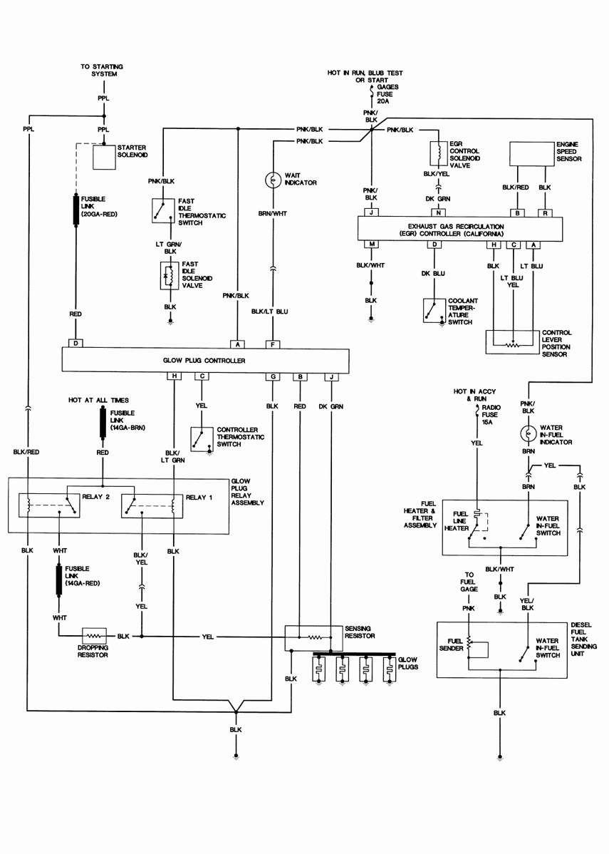 Basic Diesel Engine Wiring Diagram Auto Electrical Wiring Diagram Schema Cablage Diagrama De Cableado Ledningsdiagram Del Schaltplan Bedradings Sc