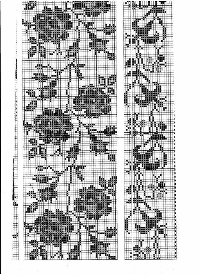 Квіточки   manteles; cubres y alfombras   Pinterest   Bordado, Punto ...