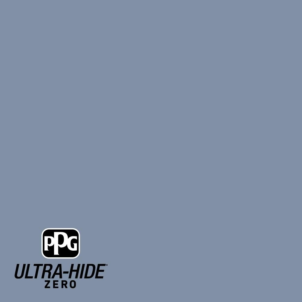 Ppg Ultra Hide Zero 1 Gal Ppg1164 5 Blueberry Muffin Semi Gloss Interior Paint Ppg1164 5z 01sg In 2020 Interior Paint Paint Designs Flat Interior