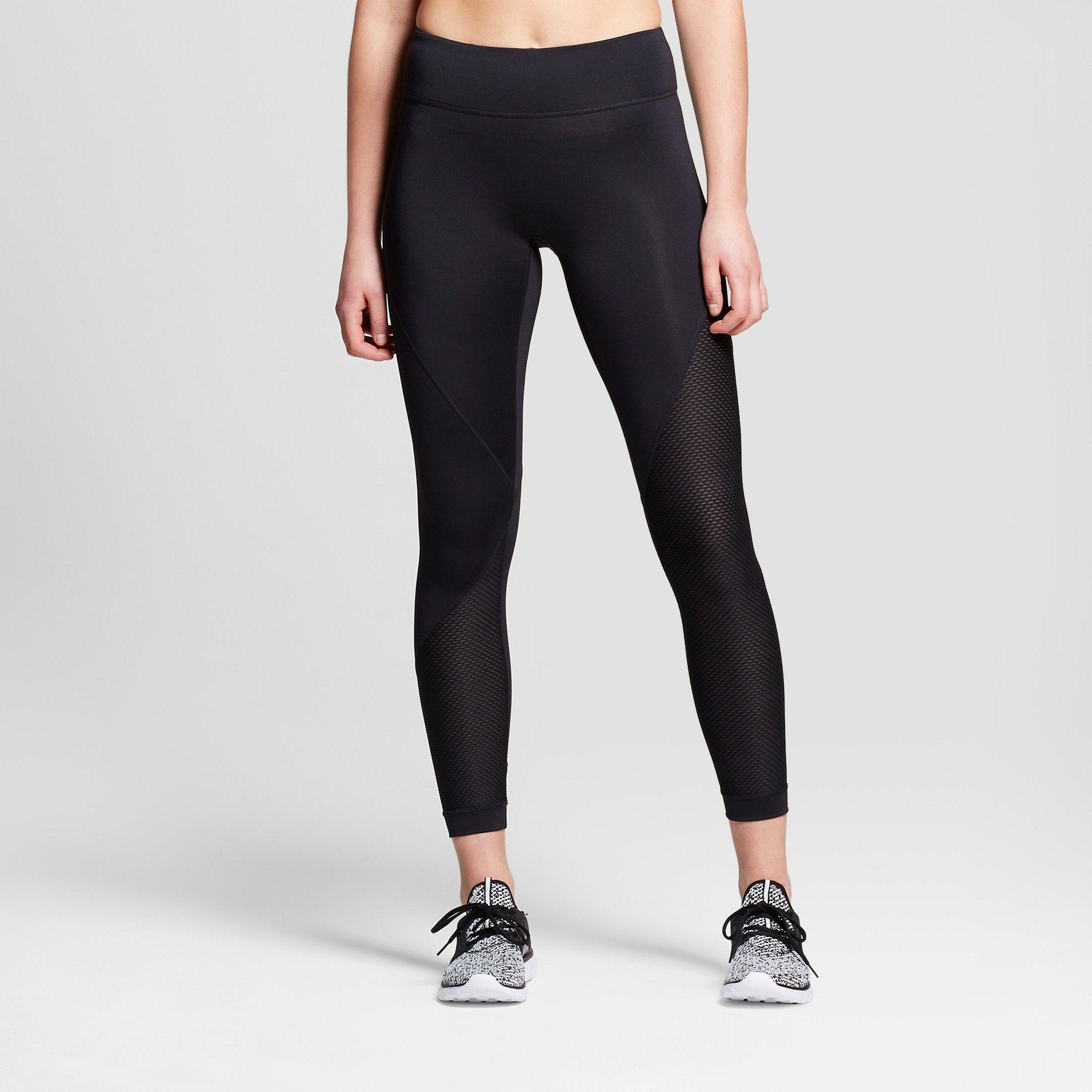 7c87bdae4d17f Women's Performance 7/8 Asymmetrical Mid-Rise Leggings - JoyLab Black Xxl
