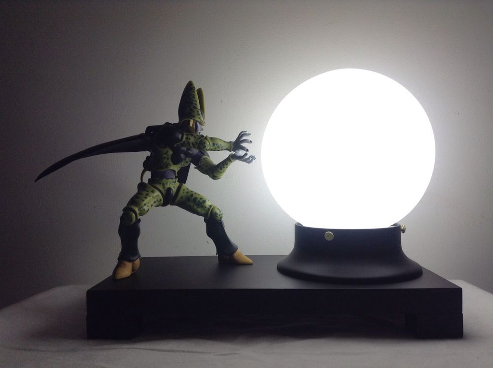 Deluxe Perfect Cell DBZ Custom Lamp Dragonball Z Lamp Dragon Ball Z Lamp |  EBay
